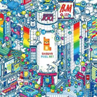 渋谷をドット絵で埋め尽くす!?「SHIBUYA PIXEL ART」開催決定