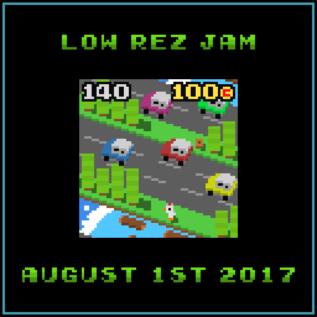 64×64ドットのオリジナルゲームコンテスト「LOWREZJAM」作品募集中!