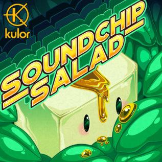 Kulorが様々な音源を駆使したアルバム「Soundchip Salad」をリリース